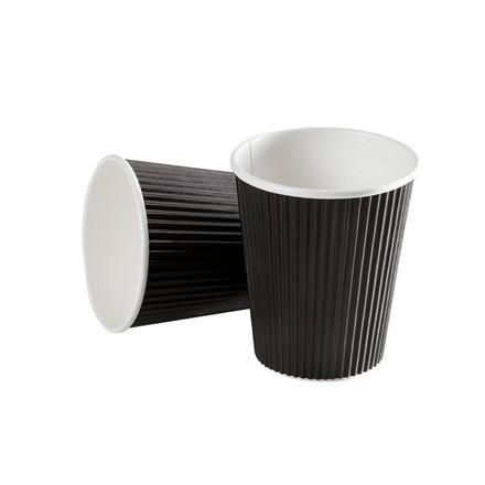 Kaffebæger Black line - Ripple Wall pap - 34 cl. - 600 stk