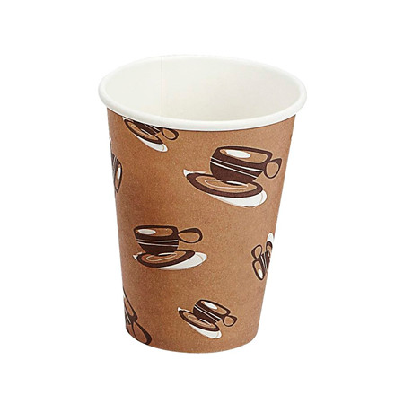 Papkrus - Kaffebæger Single Wall - 34 cl - 1000 stk