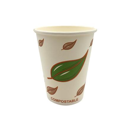 Kaffebæger 12 oz 34 cl miljørigtige Single Wall pap - 1000 stk