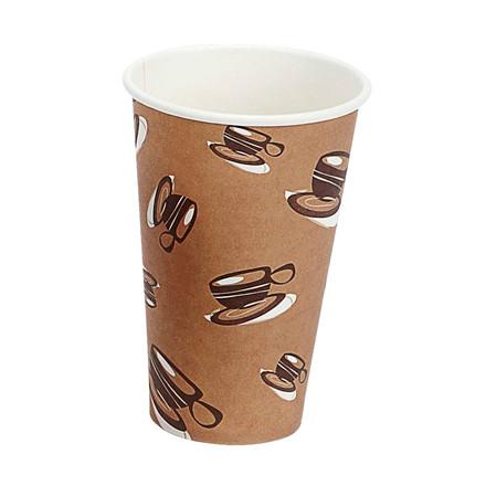 Papkrus - Kaffebæger Single Wall - 45 cl - 1000 stk