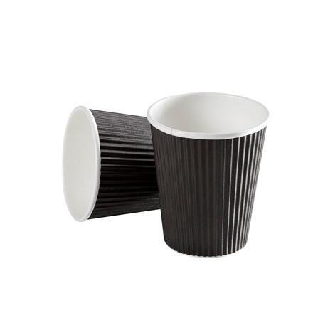 Kaffebæger Black line - Ripple Wall pap - 25 cl. - 875 stk