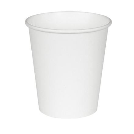 Kaffebæger hvid pap - 20,5 cl