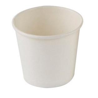 Kaffebæger espresso - hvid - Single Wall pap - 12 cl - 1000 stk.