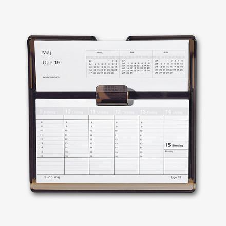 Kalenderstativ røgfarvet til Mayland Flip-A-Week kalender 20 x 19 cm - 366400