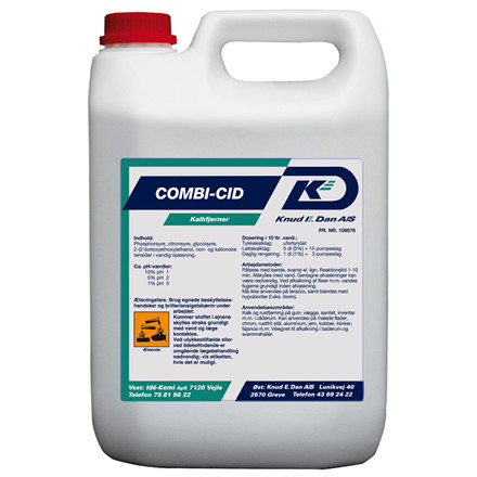 COMBI-CID Kalkfjerner - 5 liter