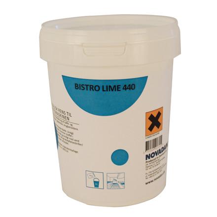Novadan Bistro Lime 440 - Pulver rens til kaffemaskine - 800 gram