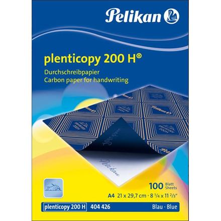 Karbonpapir - Kalkerpapir A4 blå Pelikan plenticopy 200 H - 100 ark