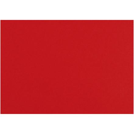 Karton, ark 497x697 mm, 270-300 g, julerød, 10ark