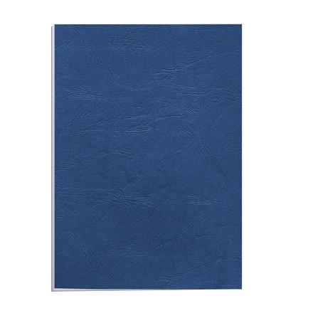 Bagside til indbinding - Fellowes blå 250g A4 genbrug - 100 stk
