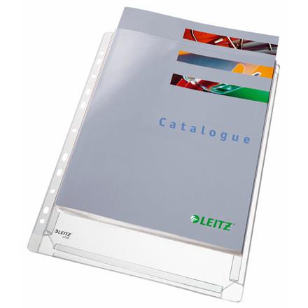 Kataloglommer - 170 my Leitz A4 med præget overflade - 10 stk i pakke