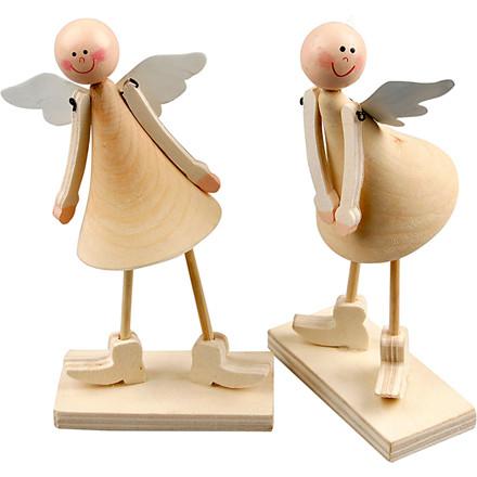 Kegle engle højde 15 cm   2 stk.