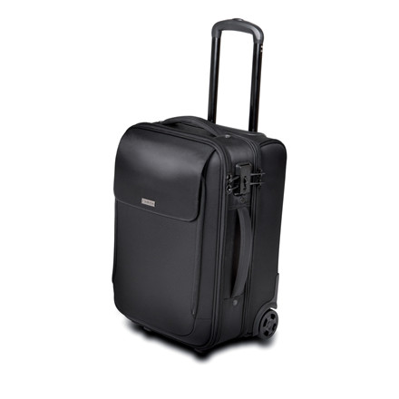 Kensington 17'' Roller Bag SecureTrek, Black