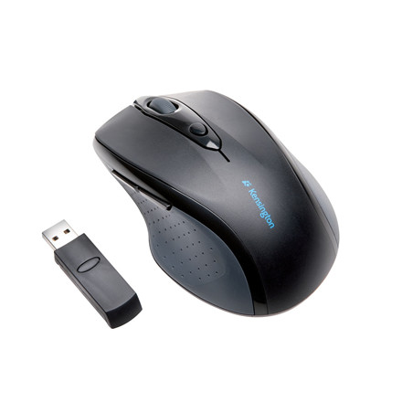 Kensington Wireless Mouse ProFit FullSize, Black