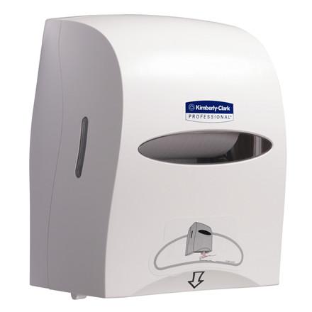 Kimberly Clark dispenser hvid - til håndklæderuller