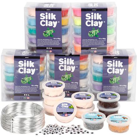 Klassesæt til figurer med Silk Clay®, 1sæt