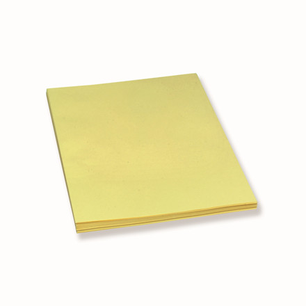 Konceptpapir gul 80g ulinieret db ark A4 250ark/pak