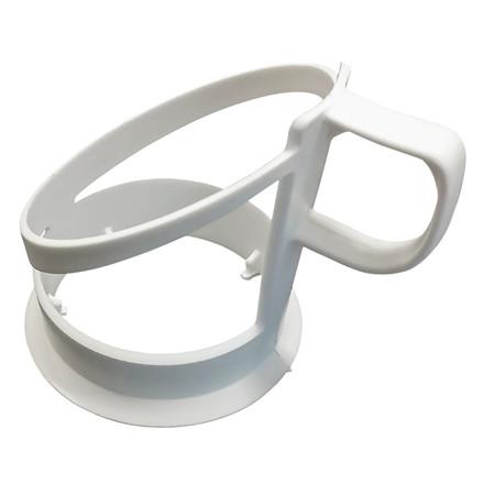 Kopholder til automatbæger hvid - 25 stk