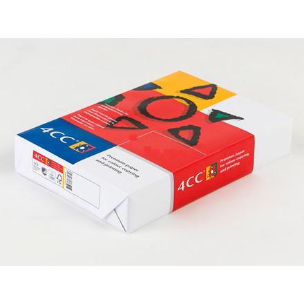 Kopipapir 4CC SRA3 100g t/farve kopi/InkJet/laser 500ark/pak