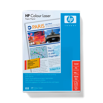 Kopipapir A4 Glossy HP Professionel Laser 120 gram |  250 ark i pakke