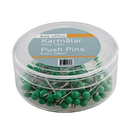 Kortnåle grøn 100 stk i pakken - 4 mm x 20 mm