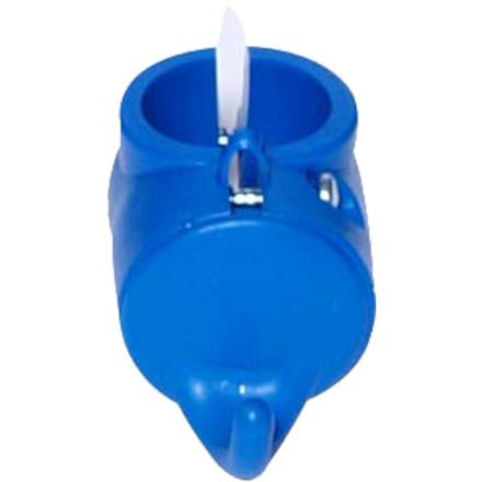 Krog plast 20/22, Tina Trolleys, blå, til rengøringsvogn, L6 cm x B3 cm x H2 cm,