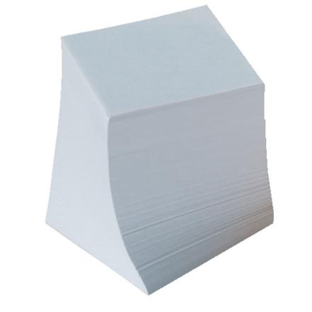 Kubus refill - limet m/700 ark/stk hvid 9x9x9 cm