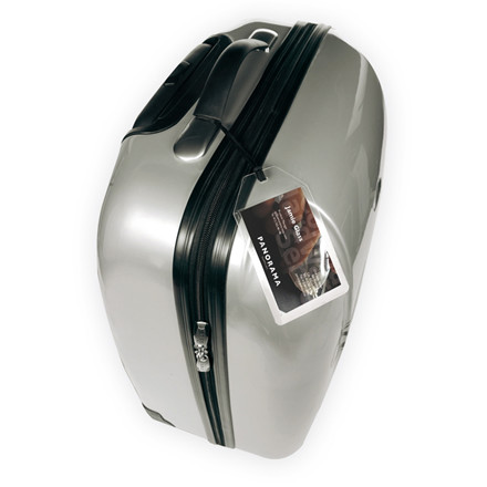 Kuffertmærker - 3L glasklar 7,2 x 12,3 cm - 10 stk i pakke