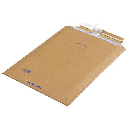 Kuverter - af bølgepap selvklæbende 340 x 500 mm CP10.08