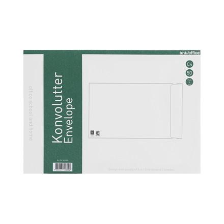 Kuverter C4P 80g Peel & Seal 229x324mm 10stk/pak