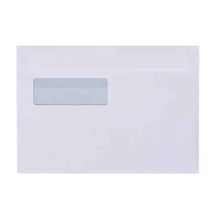 Kuverter - med rude M5 hvid 155 x 220 mm 13458 DS - 500 stk