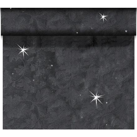 Kuvertløber Dunicel 45 cm x 24 meter Brilliance sort - 4 stk
