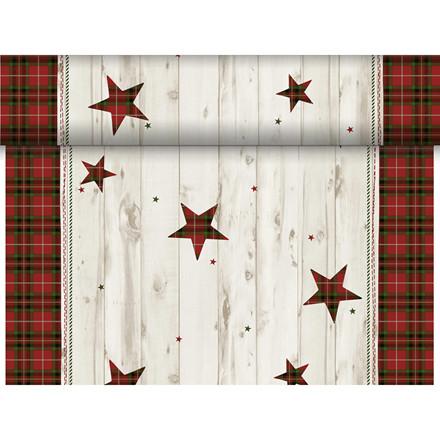 Kuvertløber, Dunicel, Naturally Christmas Rød, 0,40m x 24m