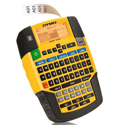 Labelmaskine DYMO Rhino 4200 t/Rhino tape 6-19mm