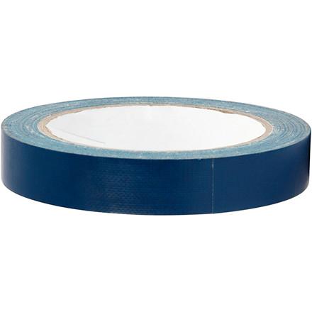 Lærredstape, B: 19 mm, blå, 25m