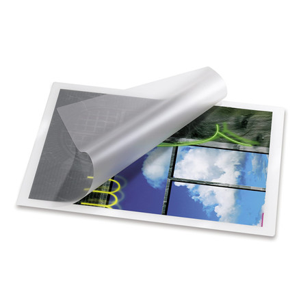 Lamineringslommer -  Til ID kort/visitkort 83 x 113 mm 125 mic - 100 stk