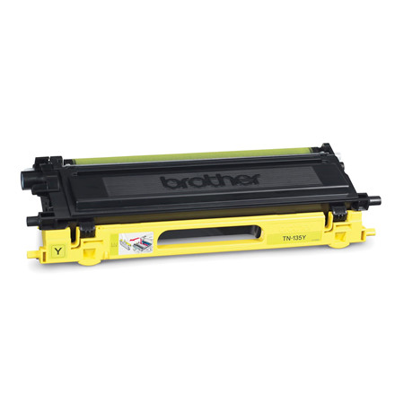 Lasertoner Brother TN135Y 4040/4050/4070/9040/9840 Yello