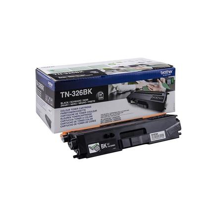 Lasertoner Brother TN326BK 4000sider v/5% sort