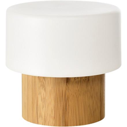 LED-lampe, Duni Bamboo, 75x105mm, bambus, Sister *Denne vare tages ikke retur*