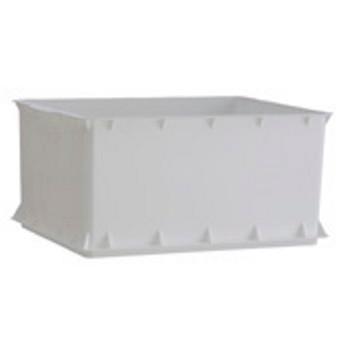 Legekasse - i hvid i kraftig kvalitet 43 x 34 x 21 cm
