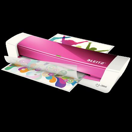 Laminerings maskine Leitz iLAM Home Office - A4 Pink til 80-125 mic