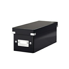 Leitz Storage box Click & Store CD black