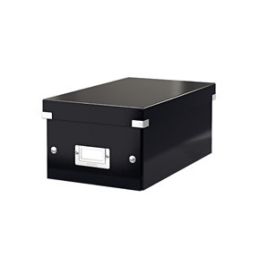 Leitz Storage box Click & Store DVD black