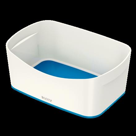 Leitz MyBox opbevaringsbakke Medium 16 x 24,6 x 9,8 cm - hvid/blå