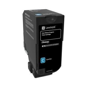 Lexmark CS720 toner cyan 3k (return)