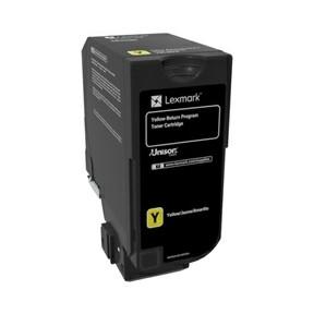 Lexmark CS720 toner yellow 3k (return)