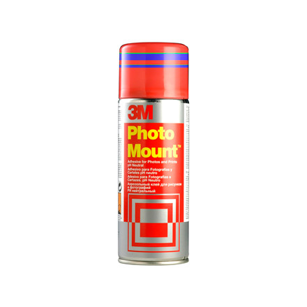 Lim - 3M Photo Mount permanent klæbende i klar 400 ml