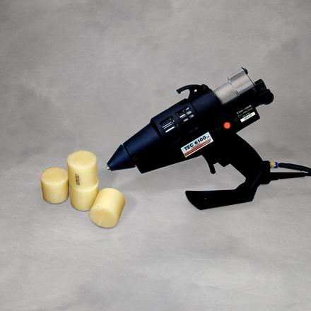 Lim - Polyshot 1X Ø 43 mm til kartonlukning, 10kg i en karton