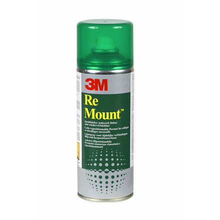 3M Re Mount flytbar spraylim - 400 ml