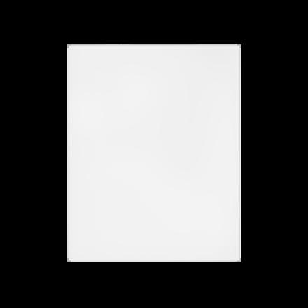 Lintex Whiteboardtavle med lakeret overflade og aluramme - 35 x 50 cm