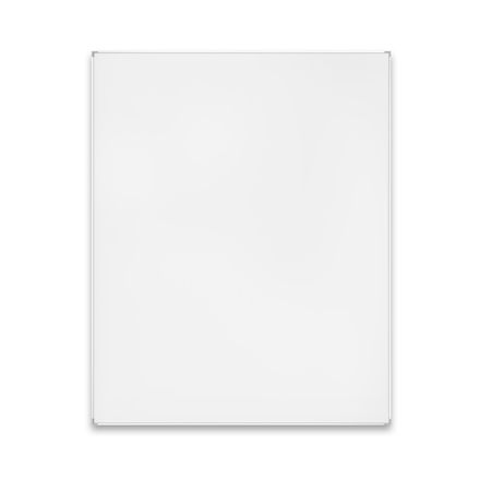 Whiteboard 45 x 60 cm med lakeret overflade og aluramme - Lintex